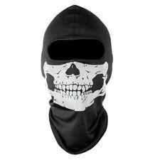 Black Motorcycle Biker Skull Hood Face Mask Ski CS Tactical Sport Helmet Snood