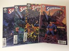 SUPERMAN/ ALIENS II GOD OF WAR #1-4 (DARK HORSE/DC/0218105) FULL SET OF 4