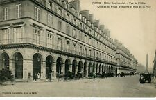 France Paris -  Hotel Continental old uncommon view postcard