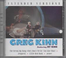 Greg Kihn Extended Versions CD NEU Jeopardy - Roadrunner / Jumpin' Jack Flash