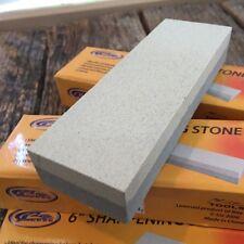 "6 LOT 6"" Aluminium Oxide Sharpening Stone Dual Grit Hone Knife Blade Sharpener"