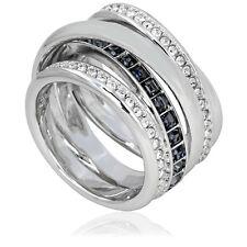 Swarovski Dynamic Silver-tone Ring - Size 8