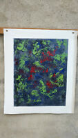 Hand painted Modern Abstract Oil Painting on Canvas  NO framed #D38