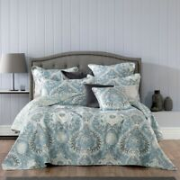 Bianca Braidwood Bedspread Set Blue