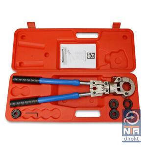 NTA Profi Presszange V-Kontur Rohrpresszange 12-15-18-22-28 HPZ f. Kupferrohr