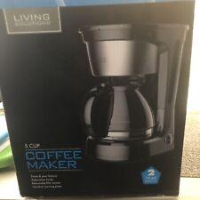 New Black & Decker - 5-Cup Coffeemaker - Black