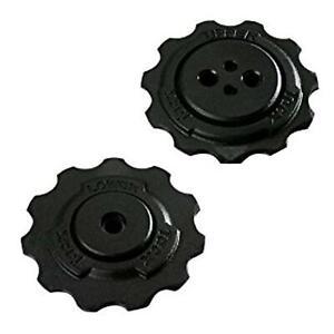 Pulleys/wheels tacx Black SRAM Speed/Jockey wheels tacx T4085