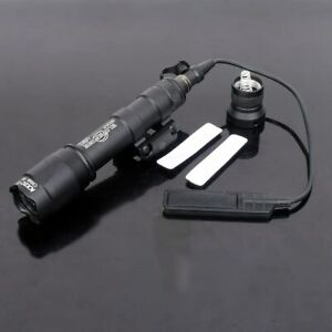 New Smart Hunting M600c Ar Weapon Rifle Light Rail Mount Lanterna Flashlight