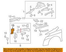 TOYOTA OEM Fender-Front Extension Bracket Right 5711312220