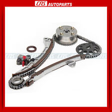 For Toyota Prius Yaris Echo Scion xA xB 1.5L 1NZFE Timing Chain + VVT-i Actuator