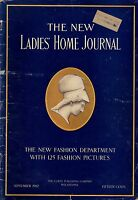 1907 Ladies Home Journal September - Why girls go wrong; Magic; Harrison Fisher