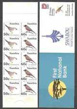 Namibia 1997 BIRDS/Nature 10v bklt ref:n14696