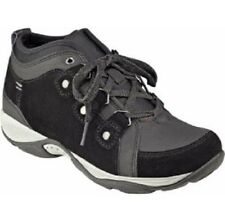 Easy Spirit Enduransa hiking boot athletic shoe suede leather black 8.5 Md NEW