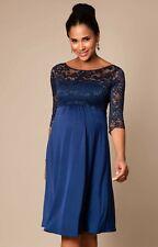 Tiffany Rose Maternity Dress - Lucia Dress Short (Blue) Size 2 (UK size 10-12)