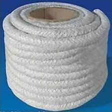 12mm Quality Glass Fibre Stove Rope Sealing Fires Woodburning Door Sealer