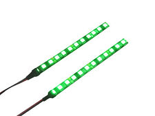 Super Bright Green LED Daytime Running Light Strips DRL Motorcycle Project Bike