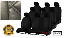 Tailored Eco-Leather Seat Covers FORD TRANSIT 9 SEATER 2014 - onwards