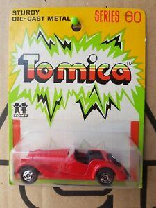 Tomica - MORGAN PLUS 8 [RED] CAR MINT VHTF AUSTRALIA BLISTER CARD GOOD
