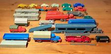 Lot Modellautos 50-er/60-er Jahre (meist Wiking), Zustand sehr unterschiedlich