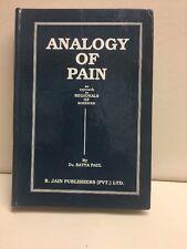 Analogy Of Pain Satya Paul Hardcover 1990 B Jain Publishers