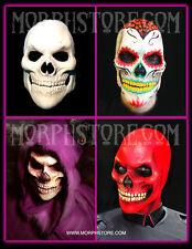 Halloween/Foam latex/Bad Ass/Red /Sugar/Skull/Face/Mask.