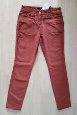 NEXT size 18 petite CORD TROUSERS slim ROSE pink summer