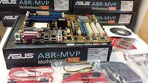 Brand New  Asus A8R-MVP AMD socket 939 ATi Radeon Xpress 200 CrossFire ATX