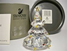 SWAROVSKI CRYSTAL CHRISTMAS TREE RETIRED 266945 MIB COA