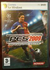 PES Pro Evolution Soccer 2009 (PC DVD) (NEW BUT UNSEALED)