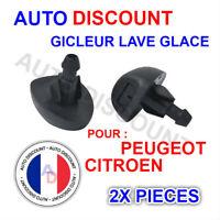 Gicleur de lave glace pour Citroën C3 Saxo Peugeot 207 307=6438CA 6438H4 6438Y3