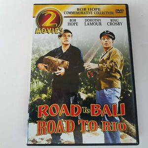 Road To Bali & Road To Rio 2-Movies DVD 2003 BCI Eclipse  787364495290