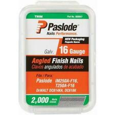Paslode - 650047 2-Inch by 16 Gauge 20 Degree Angled Galvanized Finish Nails.