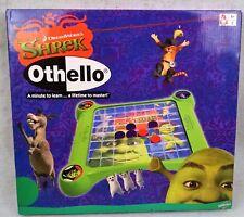 Othello SHREK Board Game DreamWorks SABABA TOYS 2007 Unused INSTRUCTIONS 8 +