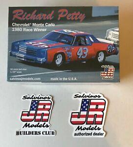 SALVINO'S JR MODELS RICHARD PETTY 1980 STP MONTE CARLO
