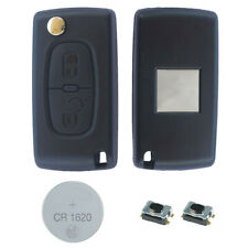 02B Fits Citroen C3 picasso 2 Button KEY FOB REMOTE CASE Repair Fix Kit 0523