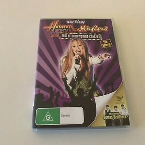 Hannah Montana and Miley Cyrus: Best Of Both Worlds Concert - DVD *Free Post*