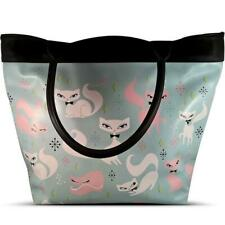 Fluff Swanky Kittens Vintage Retro Tote Bag