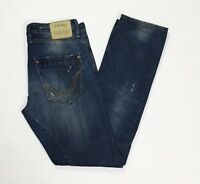 Replay 1659 sirio jeans uomo usato slim W30 L34 tg 44 destroyed boyfriend T3498