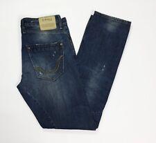 Replay 1659 sirio jeans uomo usato slim W30 L34 tg 44 destroyed boyfriend T3498