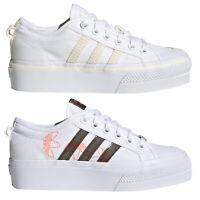 adidas Originals Nizza Platform Damen-Sneaker Plateau Turnschuhe Freizeit-Schuhe