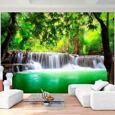 Vlies Fototapete - Wasserfall Natur - Tapete Wandbild XXL 3D Effekt Wohnzimmer