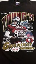 2000 Steve Young Greatest Moments Sport Attack mesh t-shirt men sz 2XL NFL 49ers