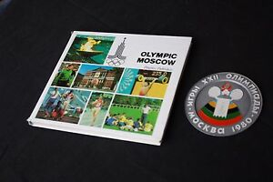 Rare Olympic Patches, and Decals 1980, Moscow Olympics,