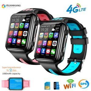 Children GPS SmartWatch Android 9.0 Waterproof 4G Sim card WIFI
