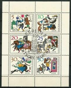 Germany East DDR GDR 1966 CTO Fairy Tales Wishing Table Mi-1236/1241 E957/962