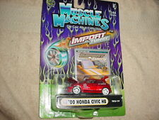 MUSCLE MACHINES T02-19 '00 HONDA CIVIC HB RED MIP FREE USA SHIPPING