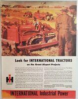 Lot 3 Vintage International Harvester Farmall Print Ads He Drives A Weapon