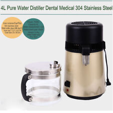 4L Purificador Destiladora Destilador Oro Máquina de Filtrar Pura Agua Destilada