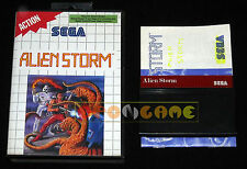 ALIEN STORM Master System Versione Europea PAL ••••• COMPLETO