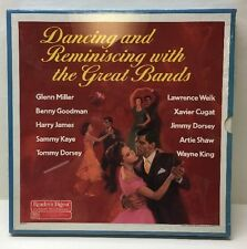 Dancing and Reminiscing with the Great Bands Reader's Digest LPs Box Set Sealed!